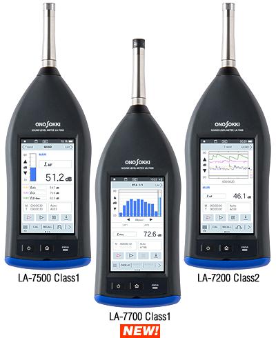 High performance Sound Level Meter